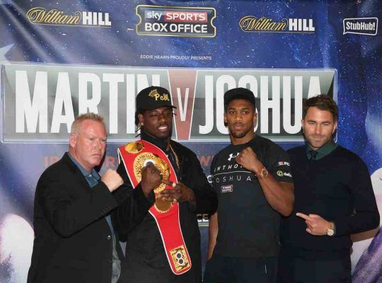 Anthony Joshua Sends Unrealistic Threat To Freeze Wilder Out