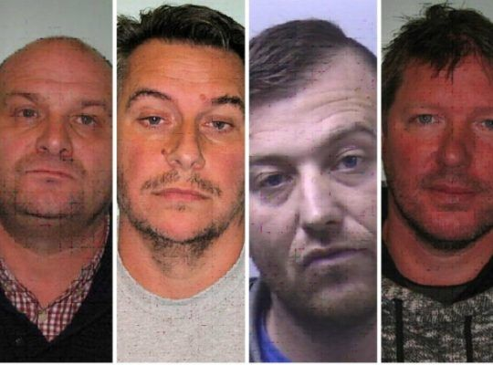 FIVE STRONG ESSEX GANG CAUGHT WITH £2m WORTH OF DRUGS