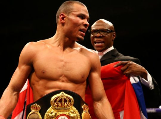Chris Eubank Jnr Relinquishes British Title Belt Due To Injury