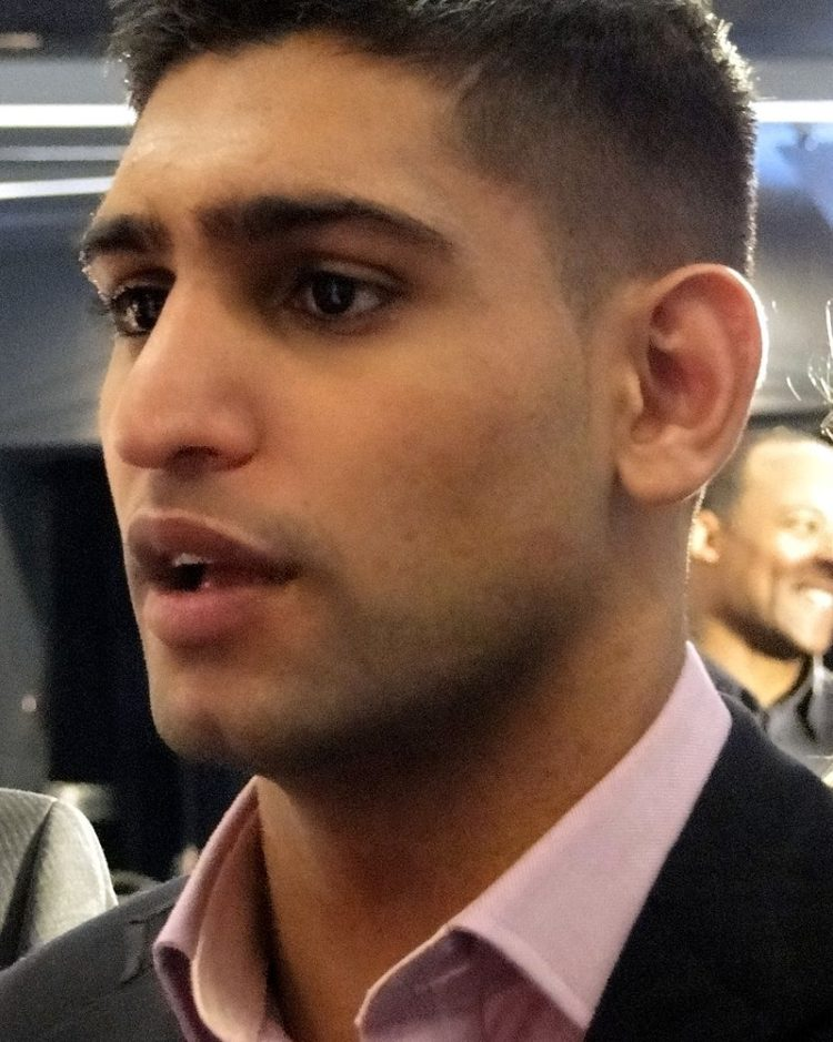 Amir Khan And Lo Greco In Press Conference Brawl