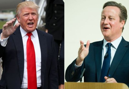 AMERICA AND BRITAIN IN RELATIONSHIP STRAIN
