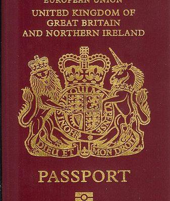 80,000 UK PASSPORT HOLDERS TO BE DENIED U.S ENTRY