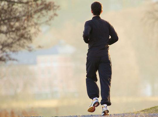 JOGGING AND THE BENEFITS OF IT