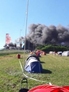 Festival in Fire As Over 80 Cars go Up In Flames at Boomtown