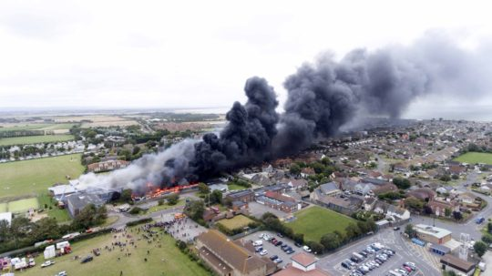 Failing West Sussex Secondary School Destroyed By Fire