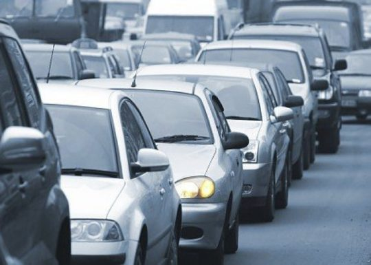 Traffic Jam on the A13 For 3 hrs Caused By Serious Accidents