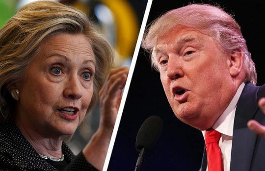 Donald Trump And Hillary Clinton In Final Debate Showdown