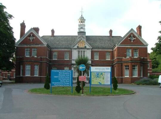 North East London mental hospital not providing basic mental health training