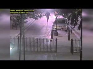 CCTV footage Release Of 3 men Running Off After 20 Year Old is Murdered