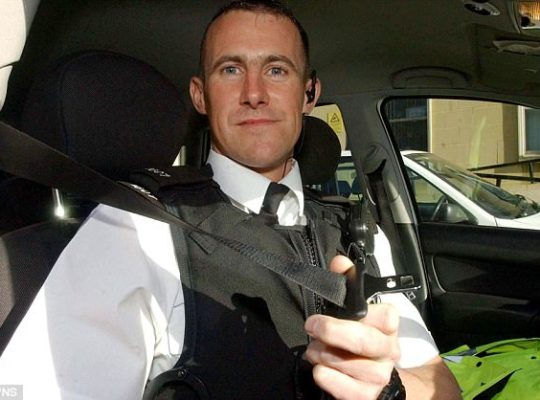 Avon And Somerset Police Officer Paul Bird Looses Razor Case
