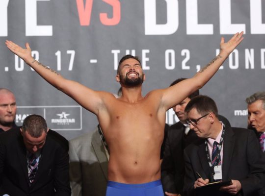 Tony Bellew Shocks Haye With KO