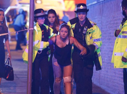 UK Terrorist Attack In Manchester Kills 22 And Injures At Least 59