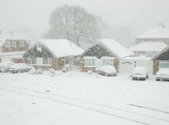 Heavy Snow Causing Power Cuts In Parts Of The Uk
