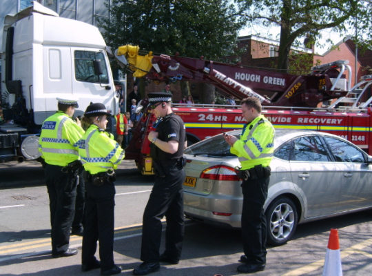 Drink Driver Car Thief Arrested In Leeds After Police Chase