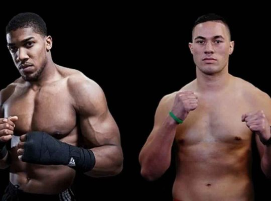 Anthony Joshua And Joseph Parker Come Face To Face