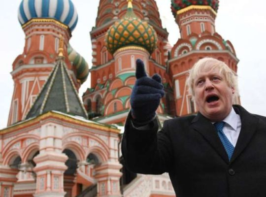 Boris Johnson Directly Points Finger At Putin For Nerve Agent Attack