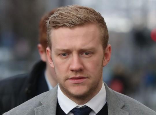 Stuart Olding Admits Alleged Rape Victim Couldn't Fight Back