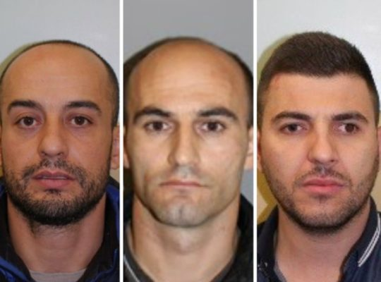 Three Men Jailed For Over 22 Years After 4.5m Drug Bust Cricklewood