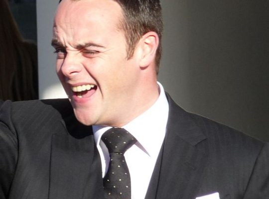 TV Presenter Ant McPartlin Fined £86000 For Drink driving