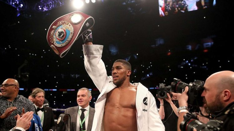 Anthony Joshua Tells How he Traded Party Life For Boxing Success