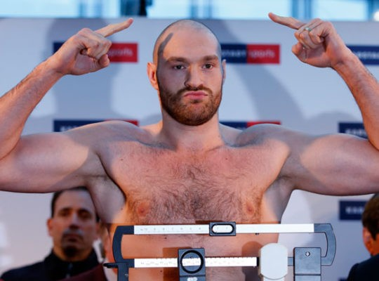 Tyson Fury's Weight Loss Highlights Serious Come Back Plans