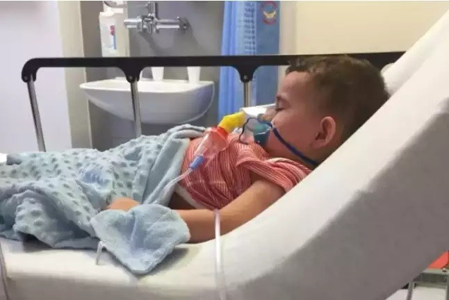 Toddler With Life Threatning Dairy Allergy Hospitalised By Pizza