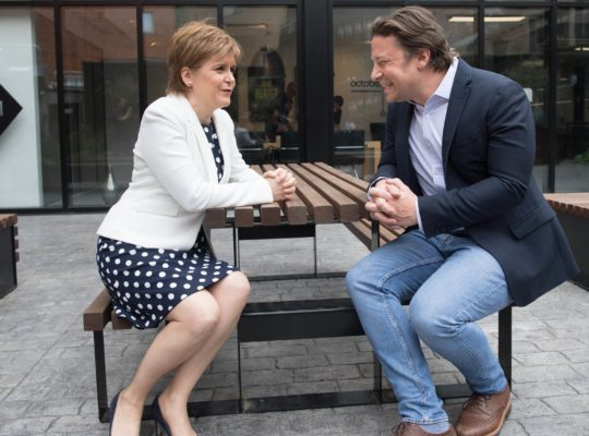 Scottish Prime Minister Aims To Slash Obesity By Half