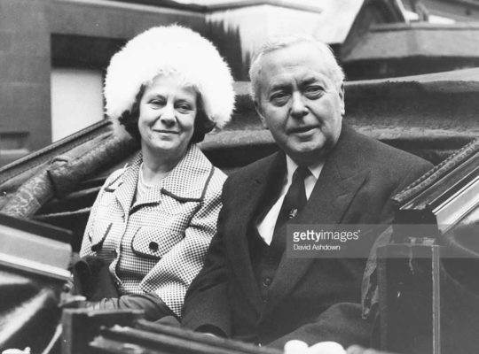 Mary Wilson Dies The First Centenarian Spouse Of a British Pm