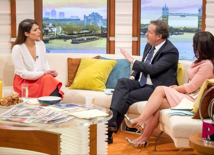 Piers Morgan And Coronation Street Actress In TV Sexism Row