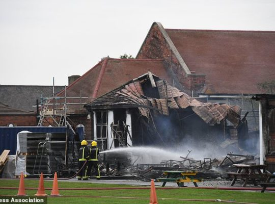 British Primary School engulfed In Fire Could Have Been Saved By Sprinklers
