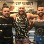 Fury In Serious  Sparring Training At Big Bear Camp