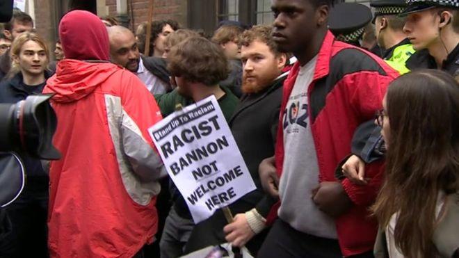Oxford Union Split After Protests Over Bannon Invite