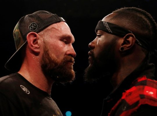 Heated Scenes Between Wilder And Fury At Press Conference