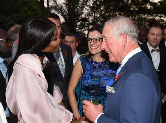 Prince Charles Enthused Nigerian Guests By Speaking Native language
