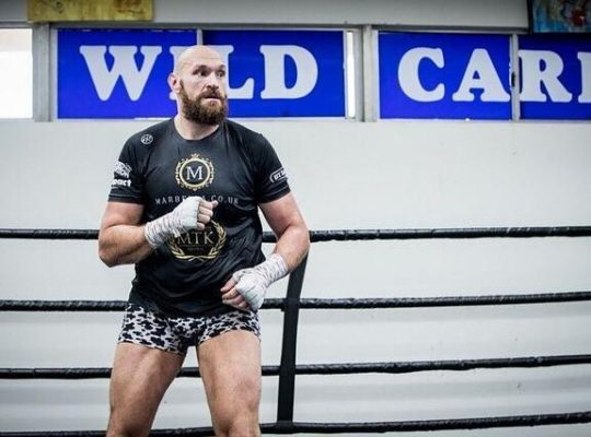 Tyson Fury  Derides Wilder By Claiming To Be More Popular In U.S