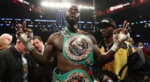 Deontey Wilder Attacked By Fury Fans Over Video Clip