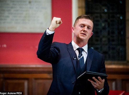 Tommy Robinson  Ban From Paypal Over Intolerant Speech