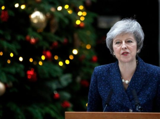 Theresa May's Vote Of Confidence Calls For Emergency Action