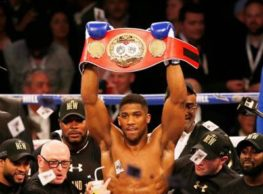 Joshua Says He Wants Wilder's WBC Belt Not Fury's Woodwork Lineal Title