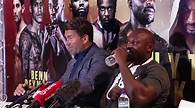 Eddie Hearns Questioned Over Unnecessary Swearing At press Conference