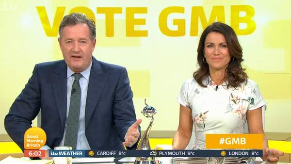 Piers Morgan And Reid Under Fire For Promise To Present Show Drunk