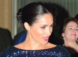 Pregnant Meghan Markle Dazzles At Royal Albert Hall Event