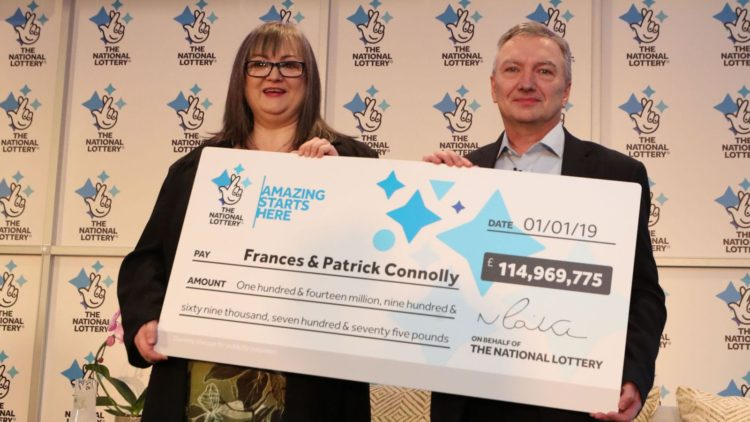 New Year's Day £115m Euro Lottery Winner Will Show Love To 50 People