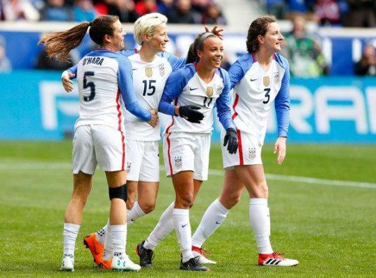 U.S World Champion National Soccer Team File Discrimination Suit