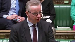 Michael Gove Opens Parliament Debate Praising May For Fortitude