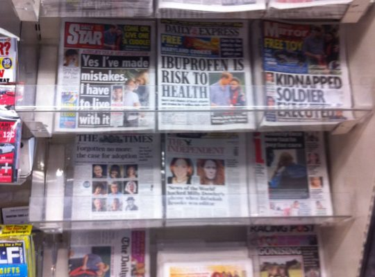 British Press Believed To Prioritise Sale Of Papers Over Integrity