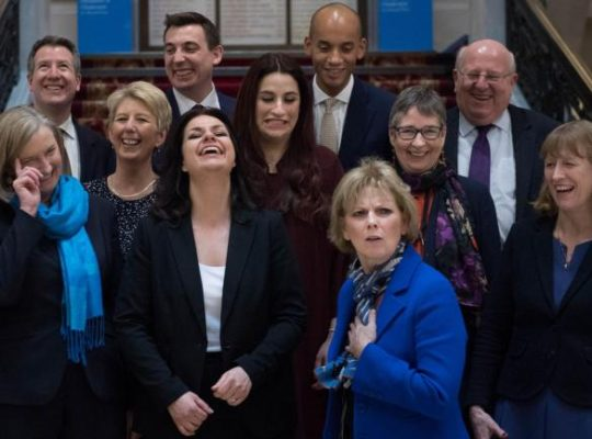 Electoral Commission Approves Change Uk As Political Party