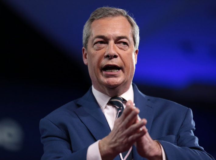 Nigel Farage's EU Poll Boost Leads To Brexit Rally In Nottingham
