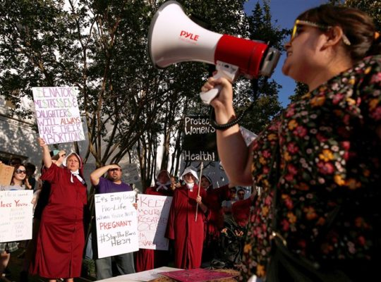 Growing Pro Abortion protesters Will Push For Supreme Court Legal Battle