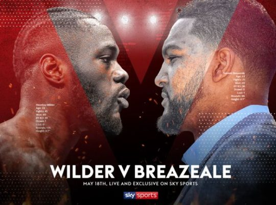 Wilder Says Rival Brezeale's Life Is On The Line